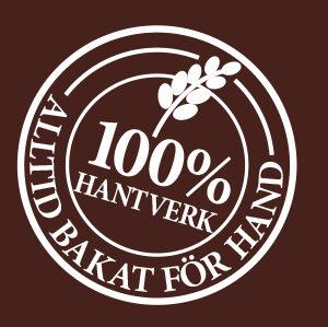 100% hantverk brun